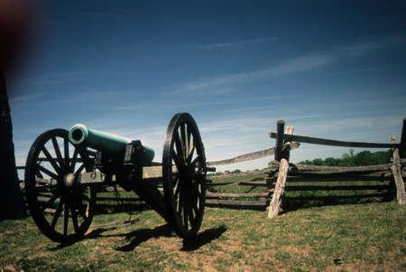 lb: Napoleon, 12 lb cannon, near Peach Orchard, Gettysburg National Historical Battlefield,Pennsylvania,