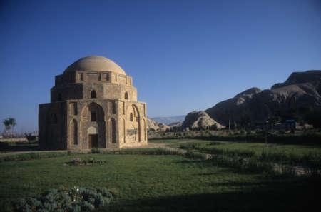 Gonbad Jabeliye dome from Sassanid era 2nd c CE Kerman, Iran, Middle East   Stock Photo