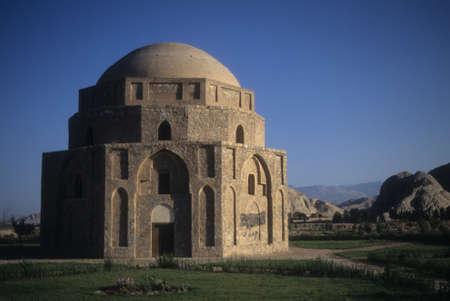 Gonbad Jabeliye dome from Sassanid era 2nd c CE Kerman, Iran, Middle East   Editorial