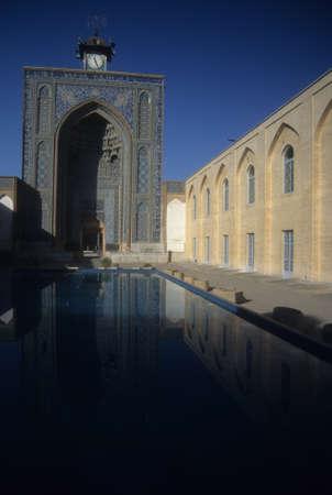 Reflecting pool of  Jami MosqueKerman, Iran, Middle East