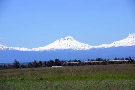 oregon cascades: South Sister, volcano of the Oregon Cascades range,near Redmond, Oregon