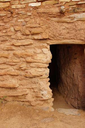 anasazi: Exterior of Anasazi Pueblo