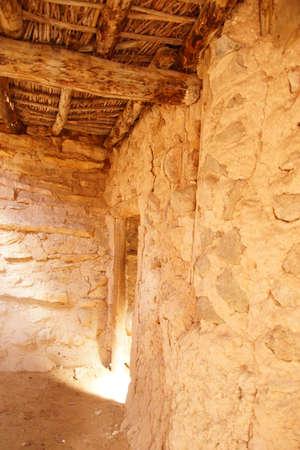 pueblo: Interior of Anasazi Pueblo Stock Photo