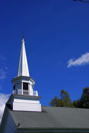 Classic New England church,  Union Meeting House,   Somesville, Maine,Mount Desert Island, Acadia National Park   photo