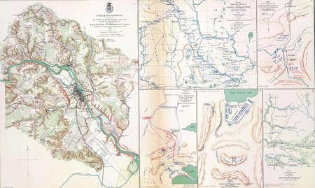 reb: Mapa de batalla de Fredericksburg