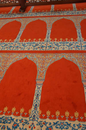 Interior decoration of the Suleymanie Mosque,  in Istanbul, Turkey Imagens - 29321236