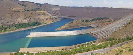 ataturk:  Ataturk dam on Euphrates River in southeastern  Turkey