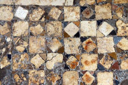 Byzantine mosaics on the floor of  St  Nicholas Church Demre,  Turkey