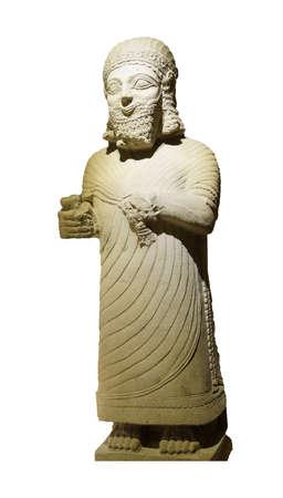 orthostat: Statue of King Mutallu, subject to Sargon II of Assyria, 1200 - 700 BCE,  Aslantepe, Malatya