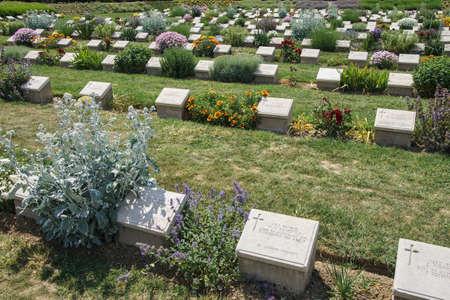 lone pine: Gallipoli, Turqu�a - el 23 de mayo 2014-Lone Pine cementerio en memoria de los soldados australianos muertos en combate hace 99 a�os en la Primera Guerra Mundial