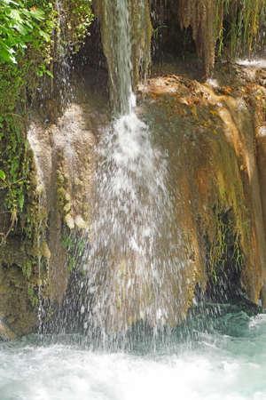 Small streams join the Duden river  near  Antalya,  Turkey   Banco de Imagens