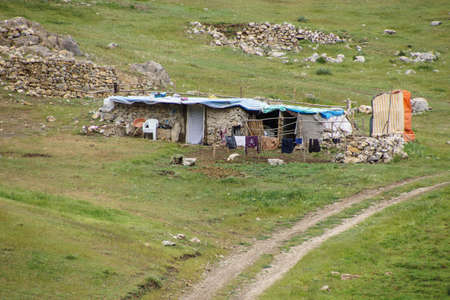 Nomad summer encampments  for herding in Eastern Turkey