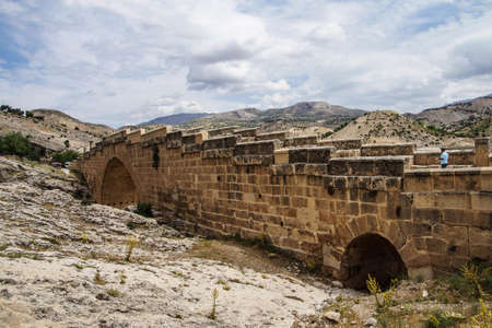 severus: Roman bridge at Cendere from 2nd century AD, honoring Septimus Severus and sons in eastern Turkey