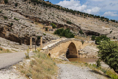 severus: Roman bridge at Cendere from 2nd century AD, honoring Septimus Severus and sons, eastern Turkey