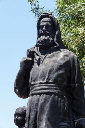 Statue of Saint Nicholas , bishop of Demre,  Turkey