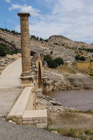 2nd century: Roman bridge at Cendere from 2nd century AD, honoring Septimus Severus and sons, eastern Turkey