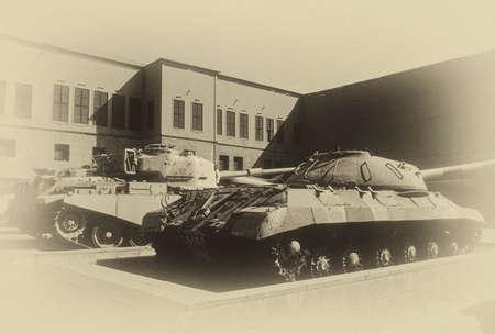 israeli: JS (USSR), Centurion,originally from World War II, then used in Arab - Israeli wars, Military Museum, CitadelCairoEgypt, Middle East Editorial