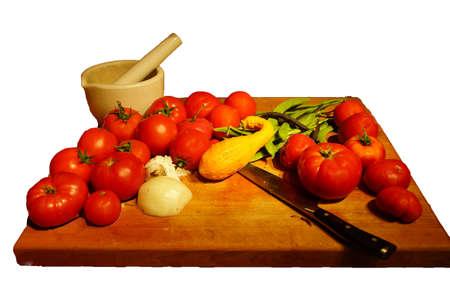 bounty: Generosidad Cosecha - tomates, calabazas y jud�as verdes desde el jard�n de verano Seattle