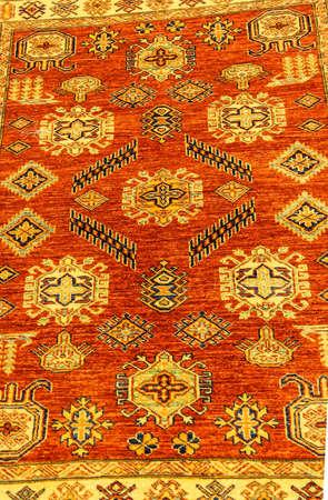 hand woven: Dettagli di tessuti a mano tappeto Archivio Fotografico