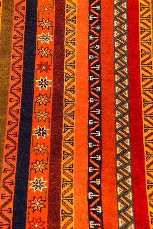 oriental rug: Sivas style rug in a carpet showroom in  Cappadocia, Turkey