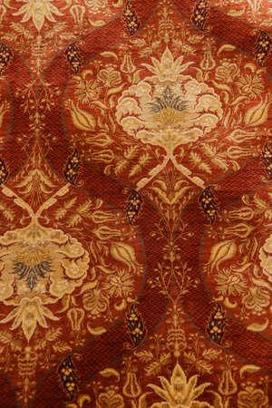 oriental rug: Kayseri Buyun rug  in a carpet showroom in  Cappadocia, Turkey