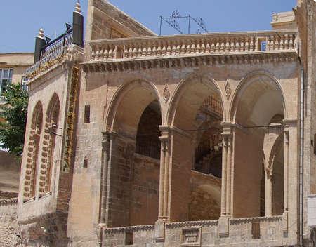 Syryjski: Suryani Kadim Kirklar Kilisesi, starożytny syryjski prawosławny Chucrch w Mardin,