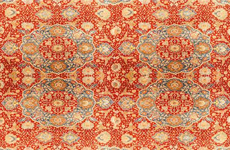carpet texture: Kayseri Buyun rug  in a carpet showroom in  Cappadocia, Turkey