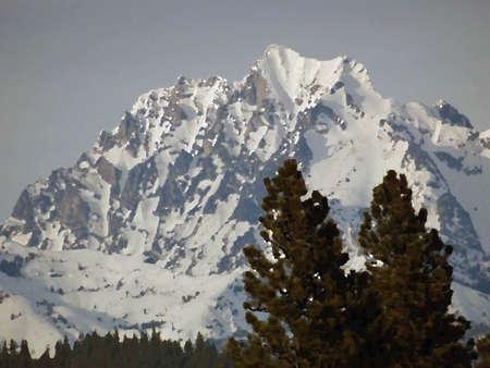 Mount Stuart in de winter, Cascades van het Noorden, Washington