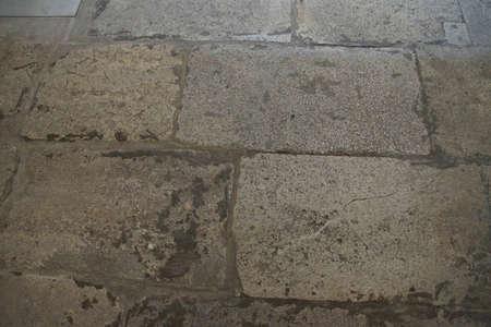 flagstone: Detail, limestone flagstone paving of  The Golden Road,  Harem of  Topkapi Palace, in Istanbul, Turkey