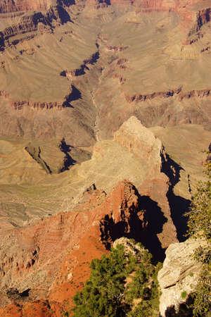 colorado river: Canyons lead down to  the Colorado River,at the Grand Canyon National Park, Arizona