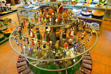 cultural and ethnic clothing: Figurines in tribal and ethnic costumes near Haiphong,  Vietnam