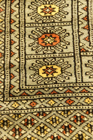 hand woven: Details of hand woven carpets  in rug store  Ephesus, Turkey