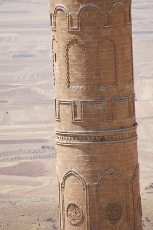 Minaret of  the Ulu Cami mosque,  Mardin,  Turkey Imagens