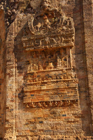 octagonal: Octagonal Shiva templo, Sambor Pre Kuk, Camboya Foto de archivo