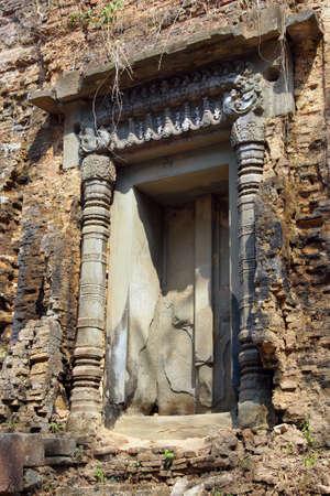pre: Lion Temple at Sambor Pre Kuk, Kampong Thom,  Cambodia