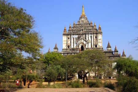 바간, 미얀마 (버마)의 Thatbyinnyu 사원