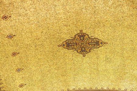 ataturk: Detail, mosaic ceiling at the  Ataturk Mausoleum,  Ankara, Turkey