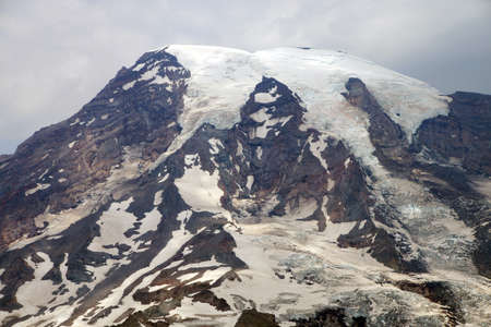icefall: South face and glaciers of Mt. Rainier, Mount Rainier National Park