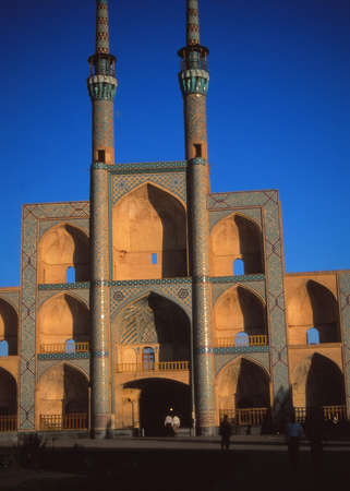 seljuk: Seljuk (10th c) Friday Mosque, Nain,Iran, Middle East