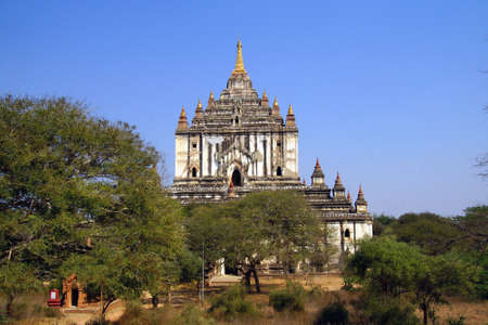 bagan: Thatbyinnyu temple in  Bagan,  Myanmar (Burma)
