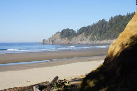 Short Sands beach at Oswald West State Park, Oregon Stock Photo