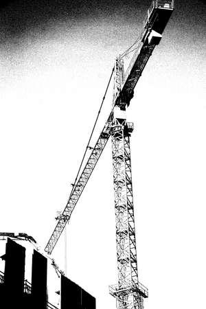 Hochhaus Bau Kräne in der Innenstadt von Seattle, Washington Standard-Bild - 51982546