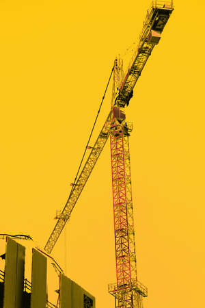 Hochhaus Bau Kräne in der Innenstadt von Seattle, Washington Standard-Bild - 51983292