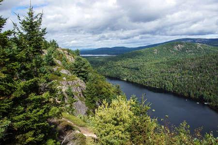 View from Beech Mountain, Mount Desert Island, Acadia National Park,Maine