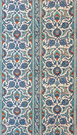 iznik: Intricate Iznik mosaic tile work    in Istanbul, Turkey
