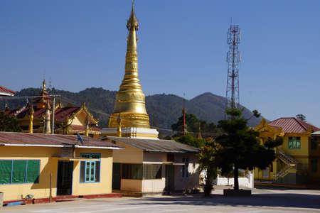 Kalaw, 미얀마 (버마)의 불교 수도원