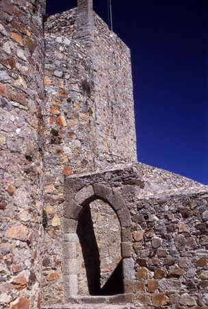 Citadel, castle on top of hill above Marvao, Portugal