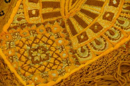 rajasthani: Details of Rajasthani wedding sari