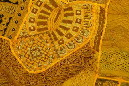 Details of Rajasthani wedding sari