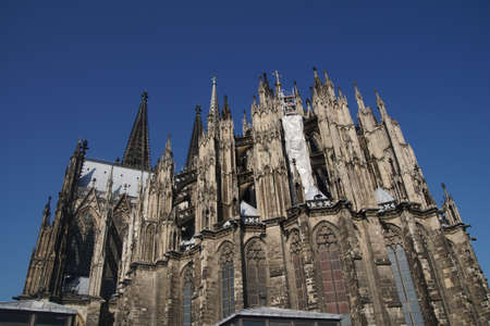 spires: Towers and spires of St. Peters Cathedral in  Cologne, Germany